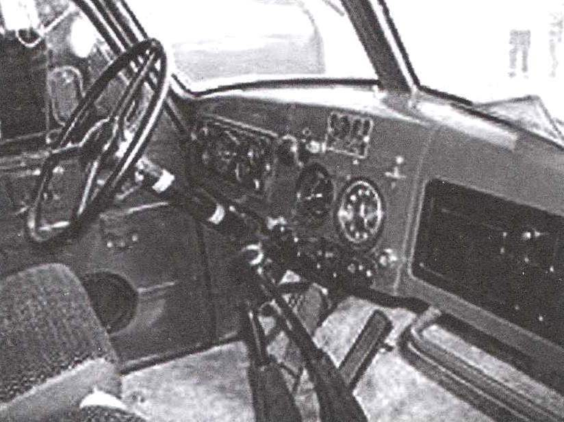 The driver of car ZIL-164