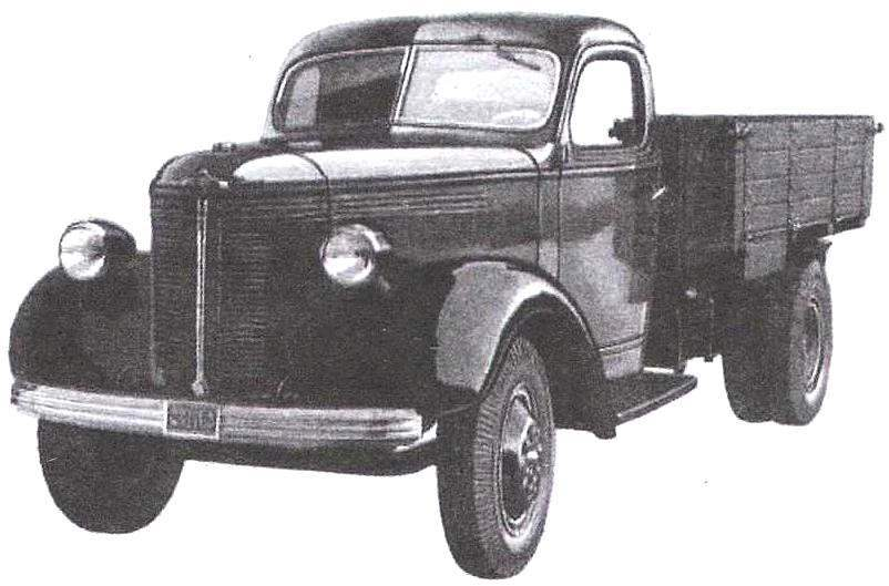 The prototype of the truck ZIS-15, developed in 1938