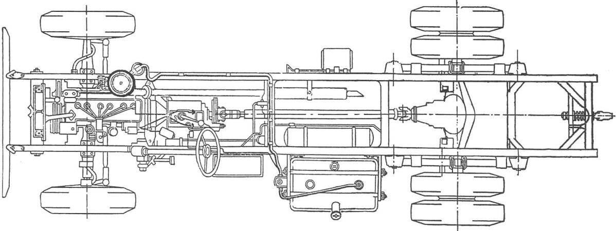 Ходовая часть автомобиля ЗиЛ-164