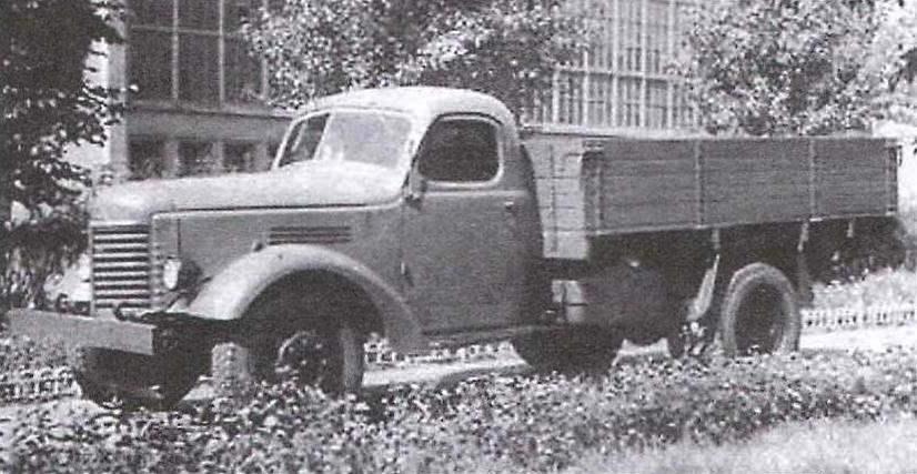 ЗиС-150 с цельнометаллической кабиной