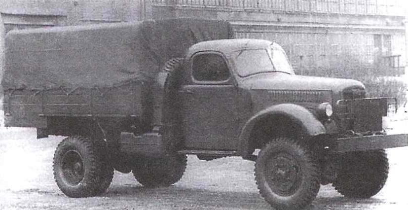 Экспериментальный полноприводной грузовик ЗиС-150П