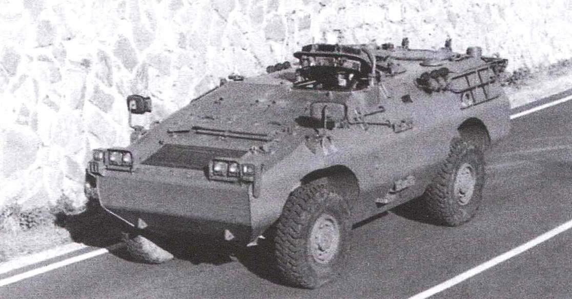 БТР «Пума» с колёсной формулой 4x4