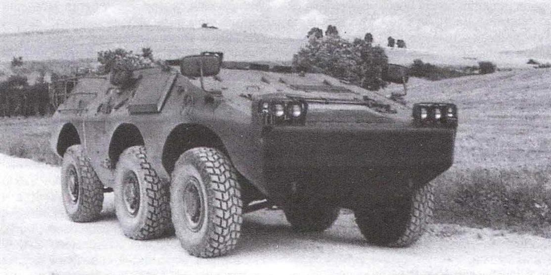 БТР «Пума» с колёсной формулой 6x6