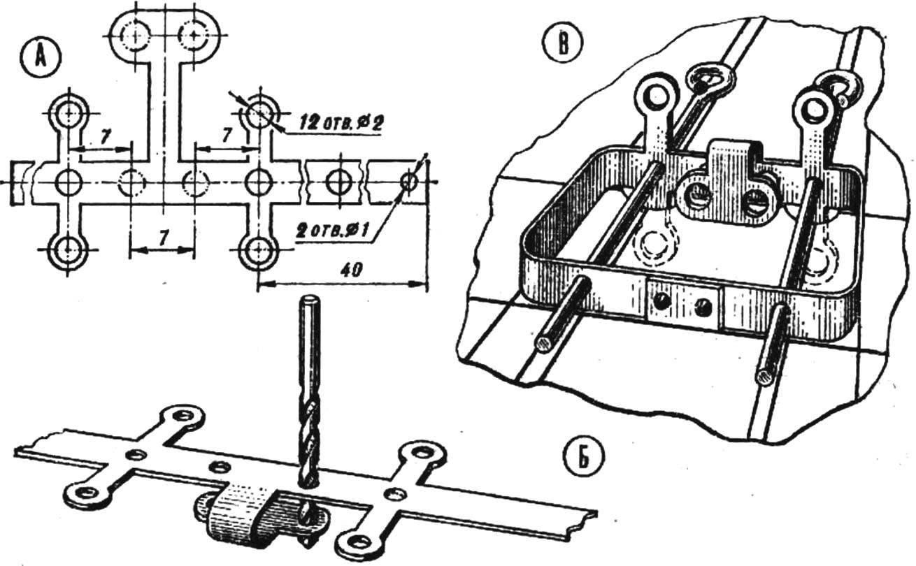 Рис. 3. Изготовление синхронизирующего механизма