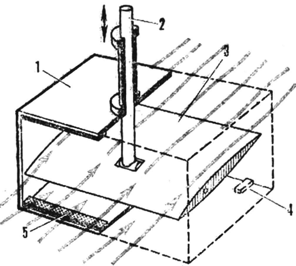 Рис. 1. Конструкция движителя