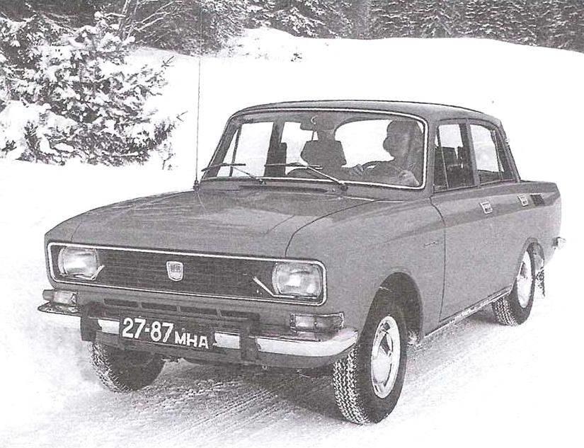 «Москвич-2140» — король российского просёлка