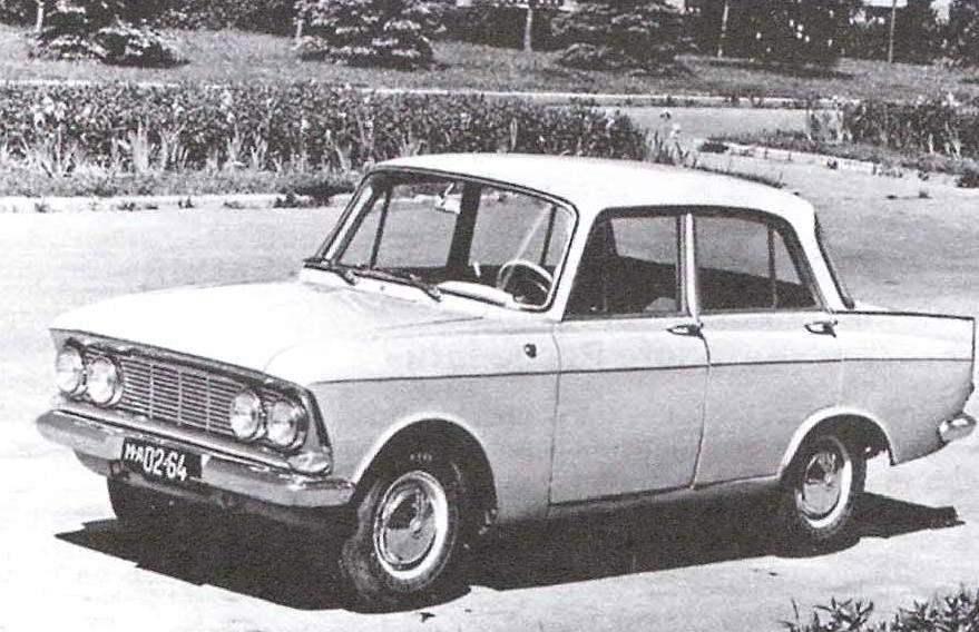 «Москвич-408» выпуска 1964 года—прямой предшественник автомобиля «Москвич-2140»