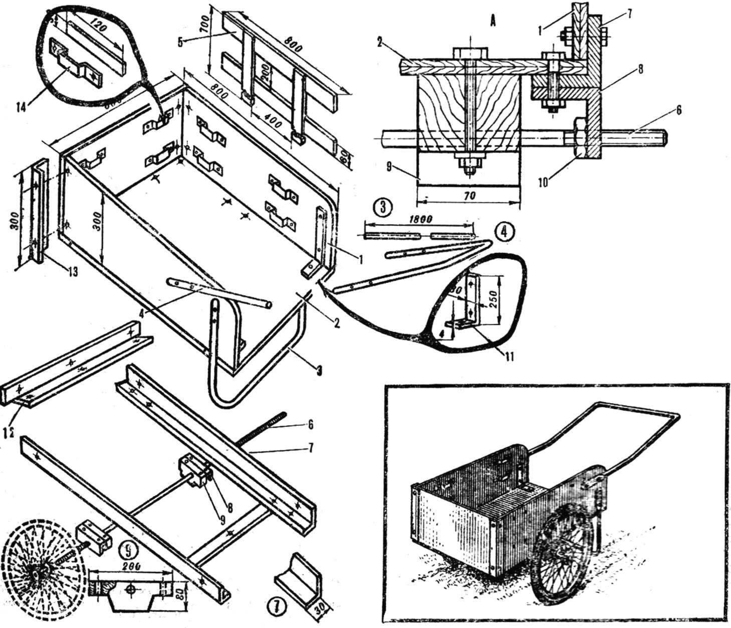 Fig. 1. Garden cart