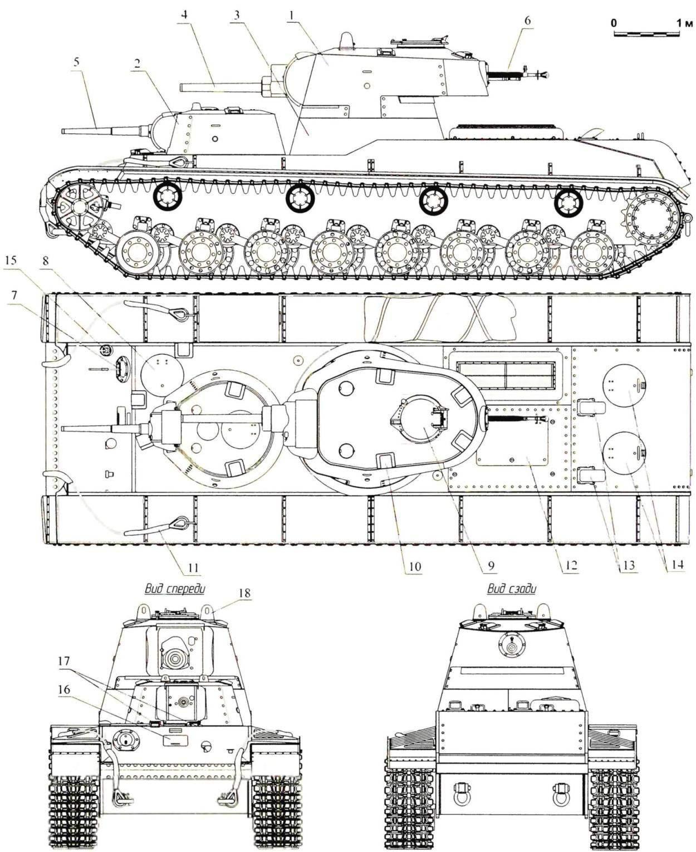 Heavy tank SMK