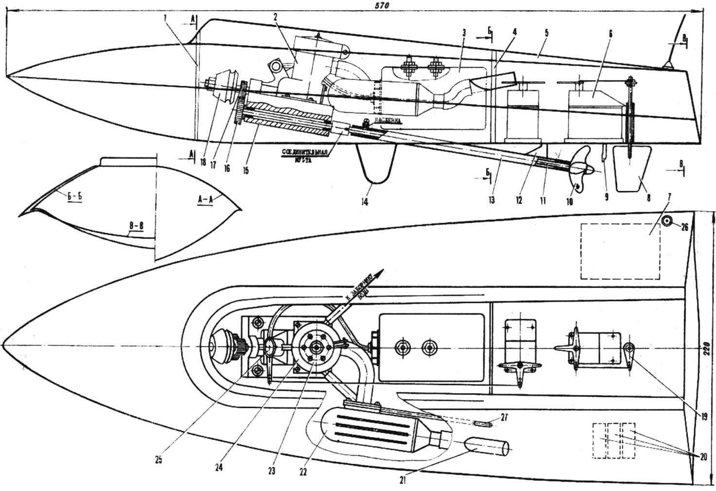 Рис. 1. Модель класса F3V