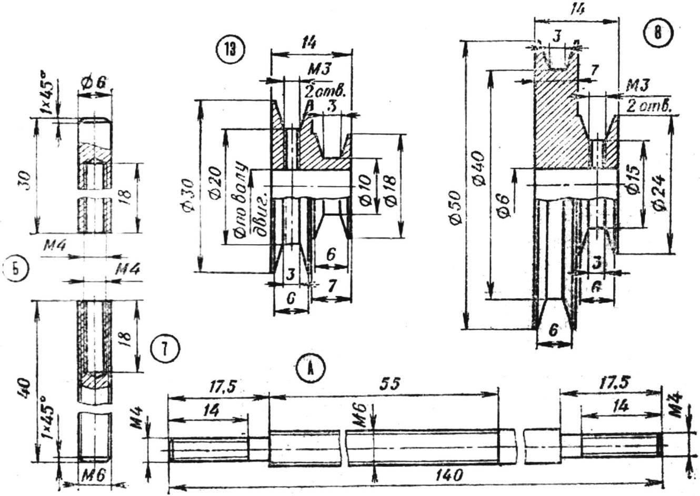 Конструктивная схема деревообрабатывающего станка