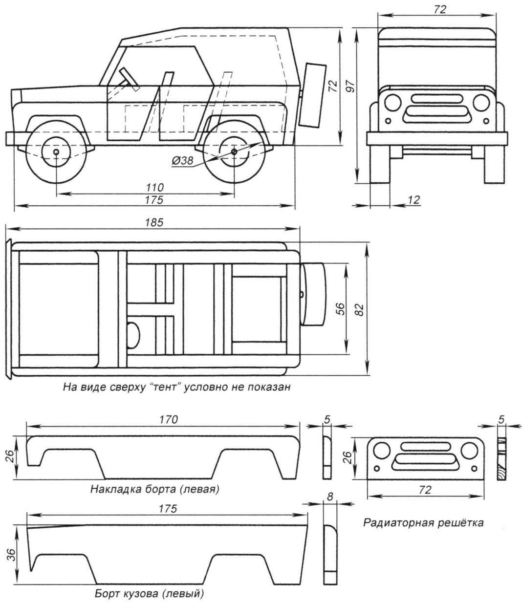 SUV Ulyanovsk automobile plant (UAZ)