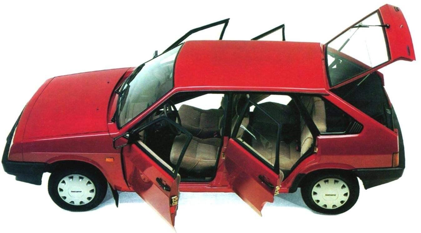 Пятидверный хэтчбек ВАЗ-2109 «Самара»