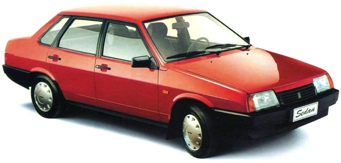 Four-door sedan VAZ-21099
