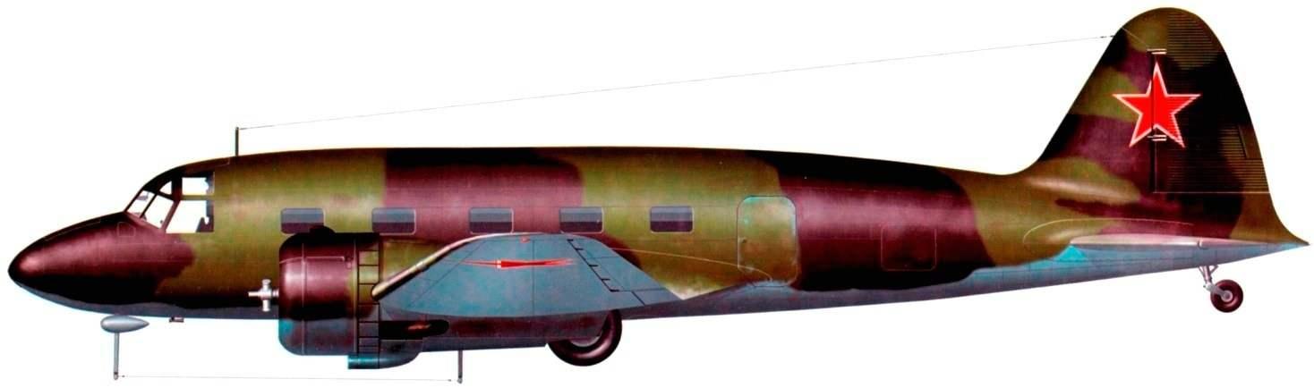 ПС-35 из 7-го отдельного транспортного полка, 1944 г.