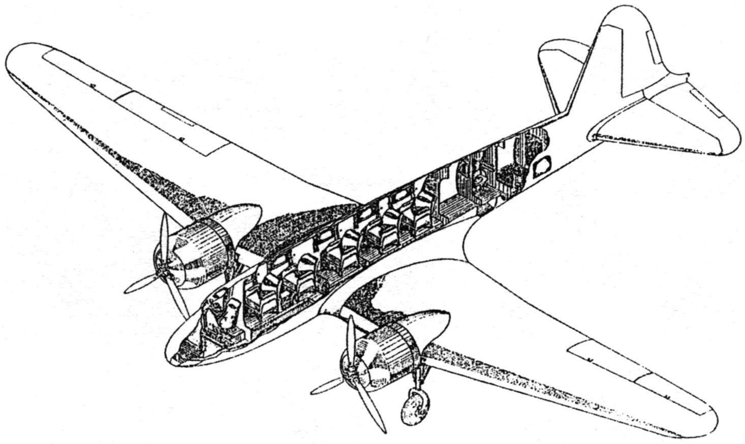 The layout of the PS-35