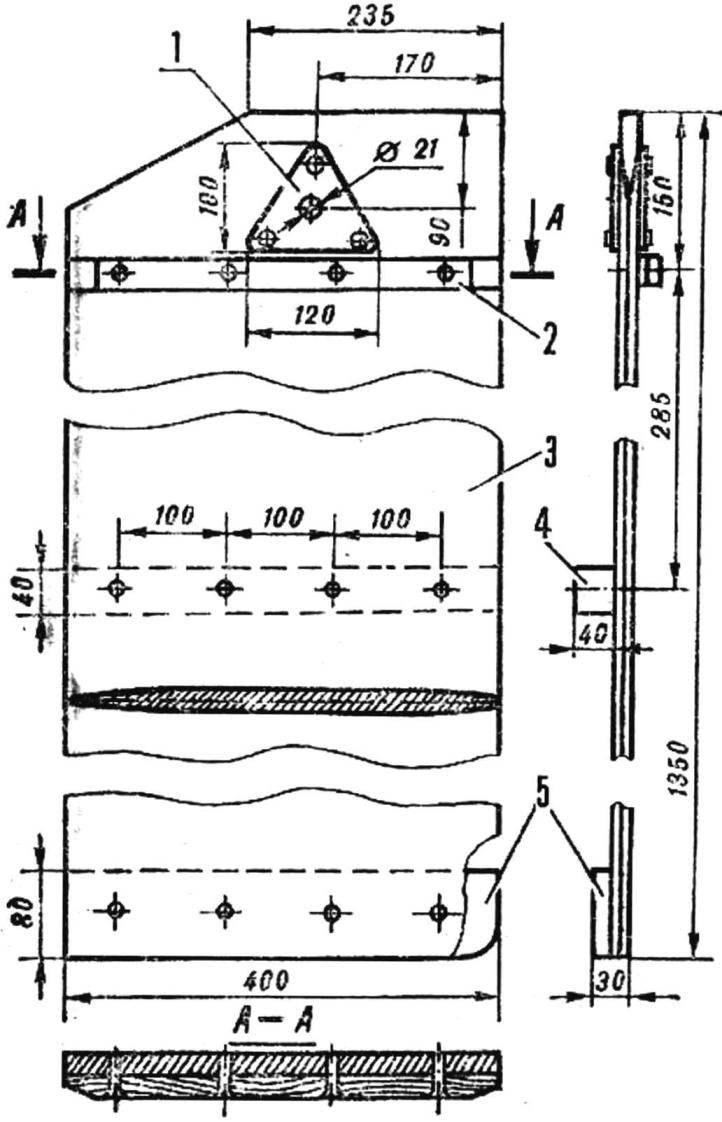 Рис. 5. Шверц (правый)