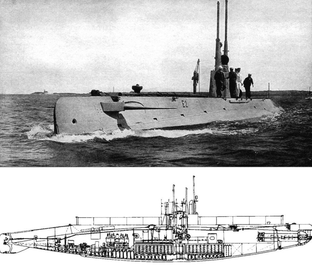 Подводная лодка типа «Е» «Скипджек» (SS-24), США, 1911 г.