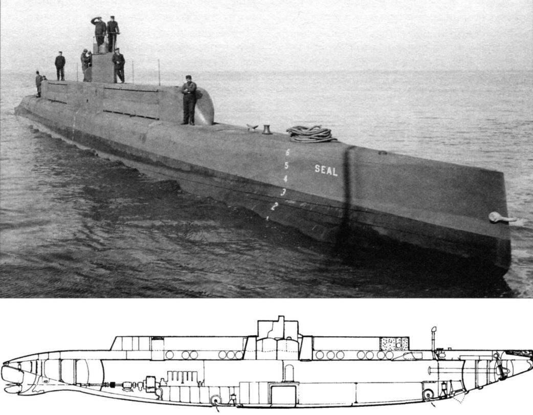 Подводная лодка типа «G» «Сил» (SS-19 1/2) (США, 1911 г.)