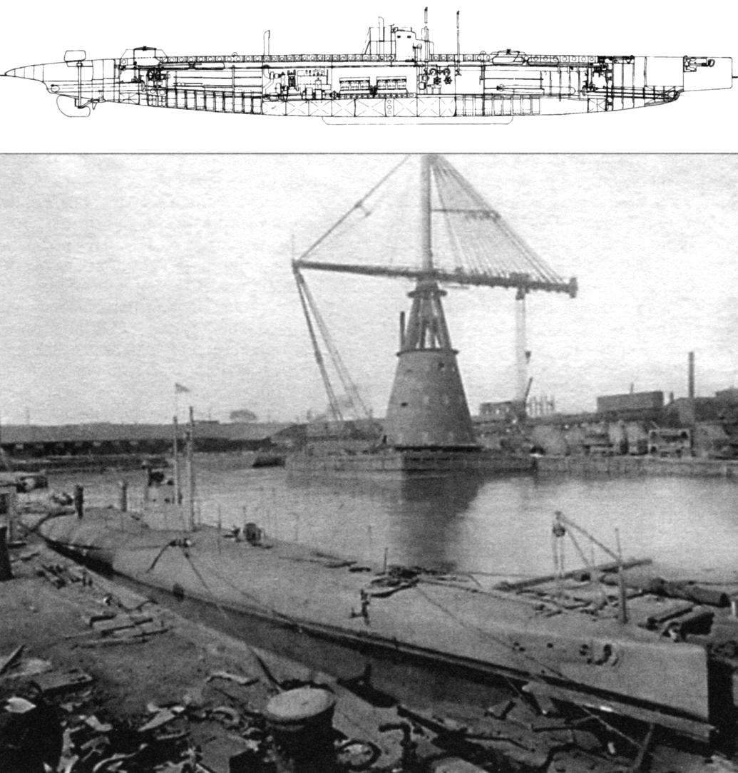 Подводная лодка типа «G» «Трешер» (SS-26), США, 1912 г.