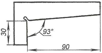 Рис. 7. Угольник-шаблон