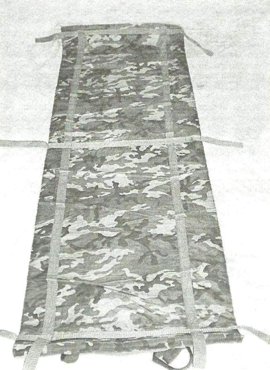 Фото 3. Нижняя сторона чехла со стропами