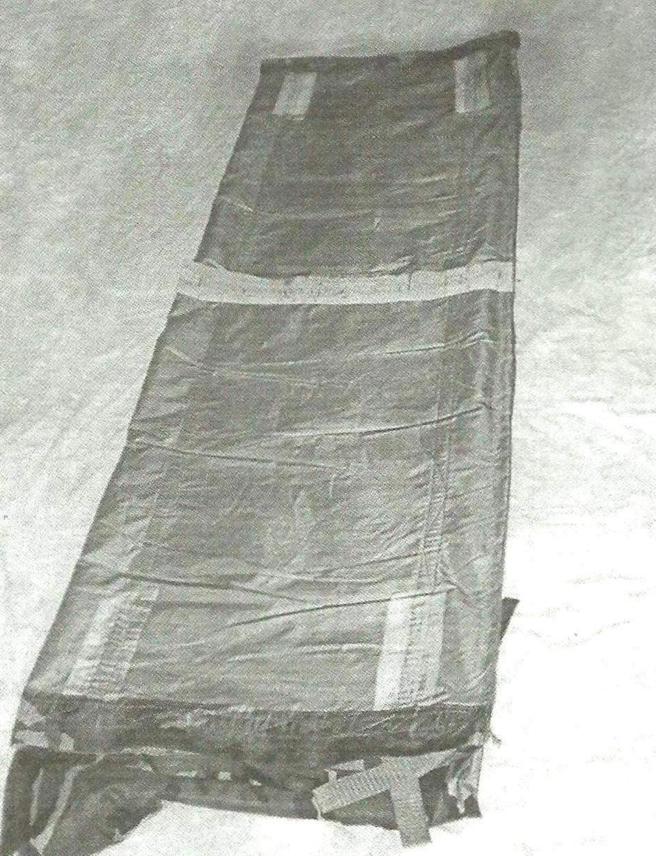 Фото 4. Изнаночная сторона с тканью усиления