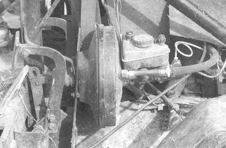 The vacuum brake booster wheel