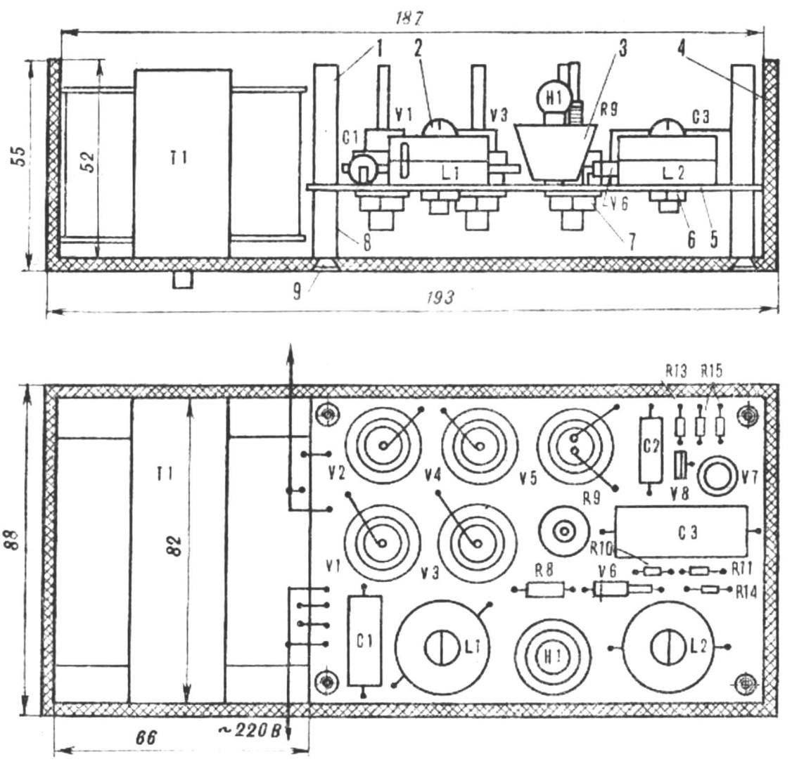 Рис. 4. Конструкция терморегулятора