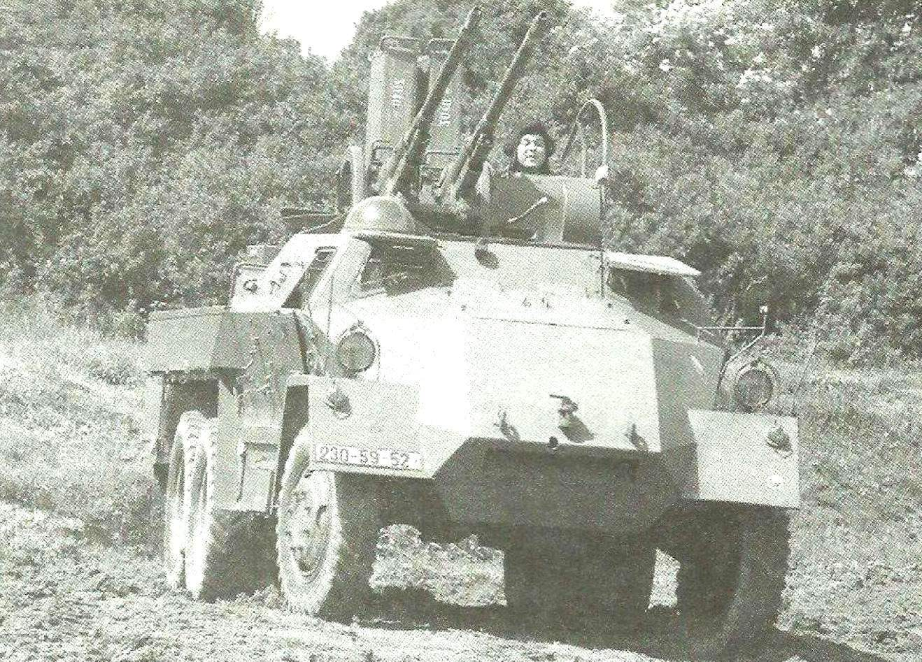 Зенитная «Ящерица» на демонстрации бронетанковых образцов. Музей военной техники чешского города Лешаны
