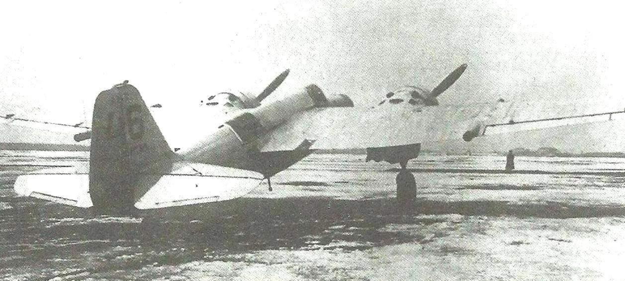 Тяжёлый истребитель ДИ-8 (АНТ-46) на заводских испытаниях