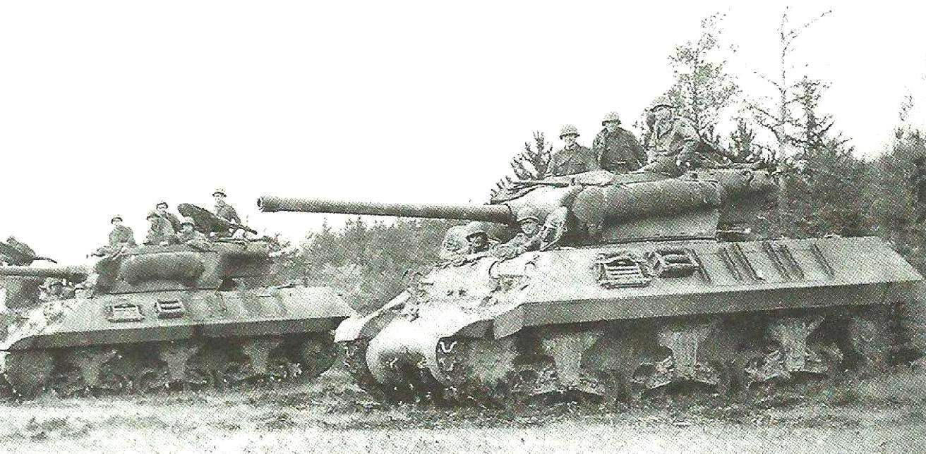ACS M36 in area of firing positions