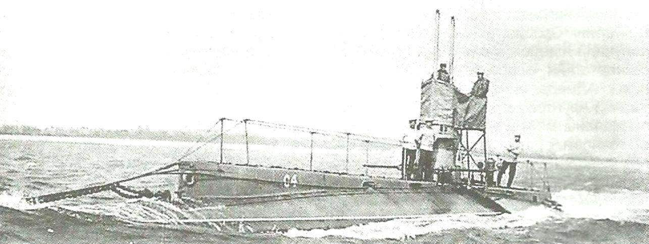 Submarine type With series I, England, 1907