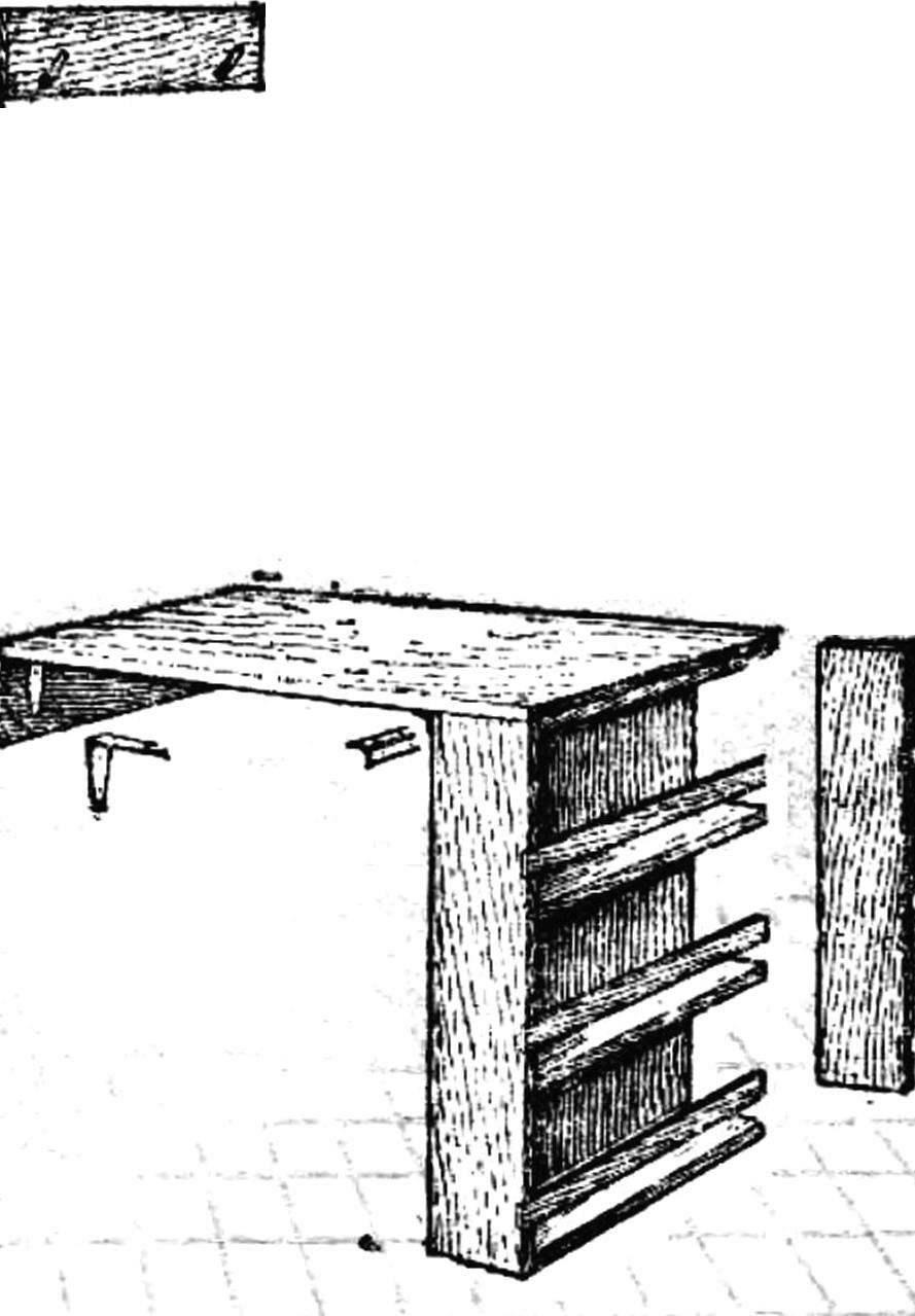 Полка-стол.
