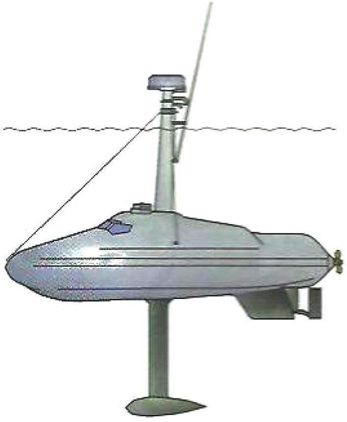 Полупогруженная стеклопластиковая лодка, захваченная у о. Сан Андрес, Колумбия, 1993 г.