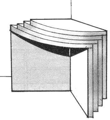 Fig. 4. Compact storage segments — slide