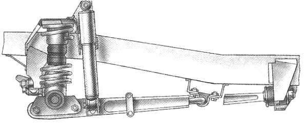 УАЗ-3151 — вариант передней подвески на цилиндрических пружинах