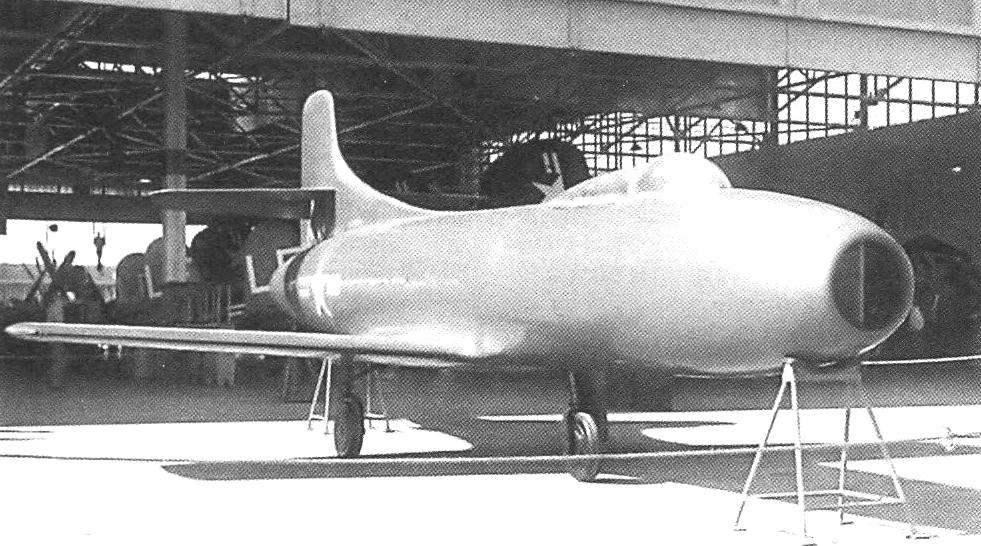 Макет самолёта D-558