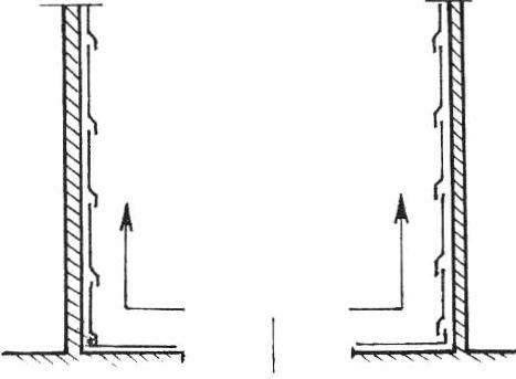 Рис.2. Важно также учесть последовательность наклеивания обоев.