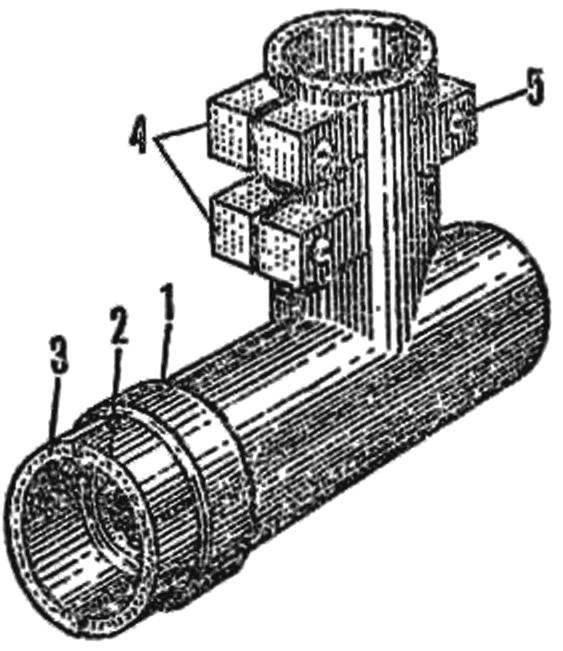 Рис. 1. Деталь корпуса редуктора, получаемая формованием из эпоксидной смолы