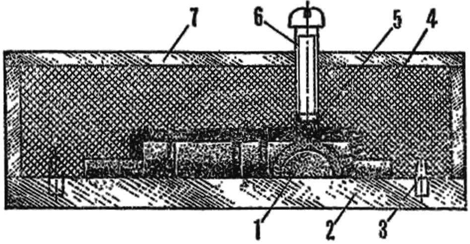 Рис. 2. Конструкция пресс-формы