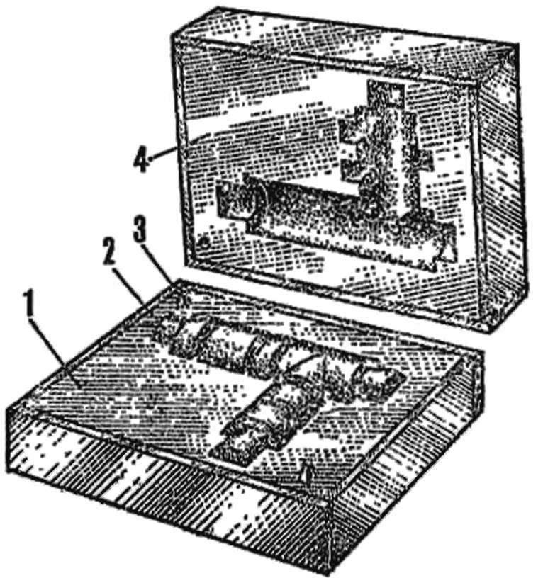 Рис. 3. Пресс-форма (пуансон и матрица) для формования половины корпуса редуктора