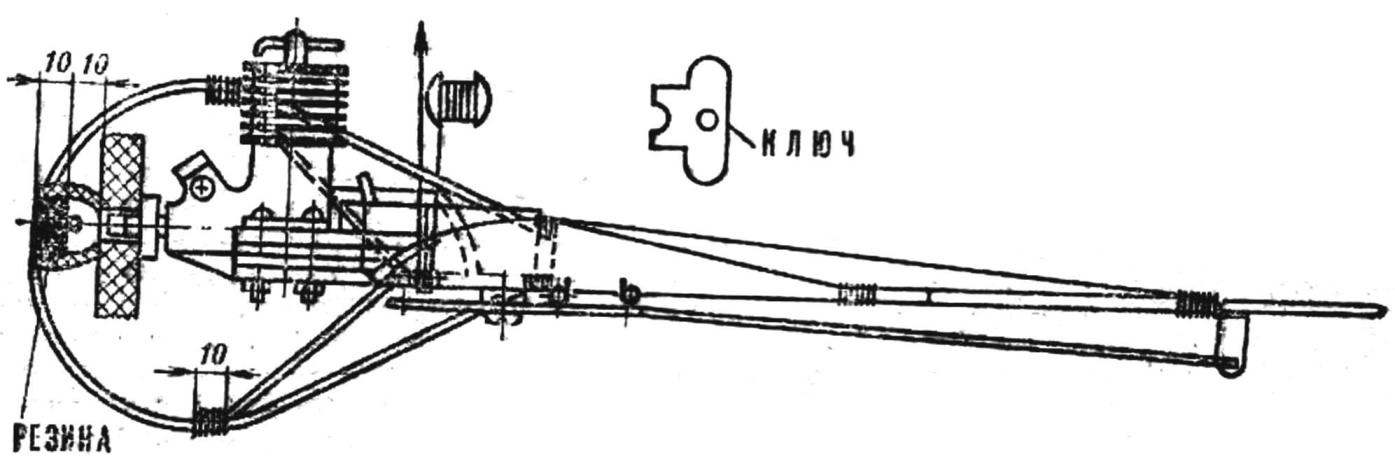 Fig. 2. The layout of the model.