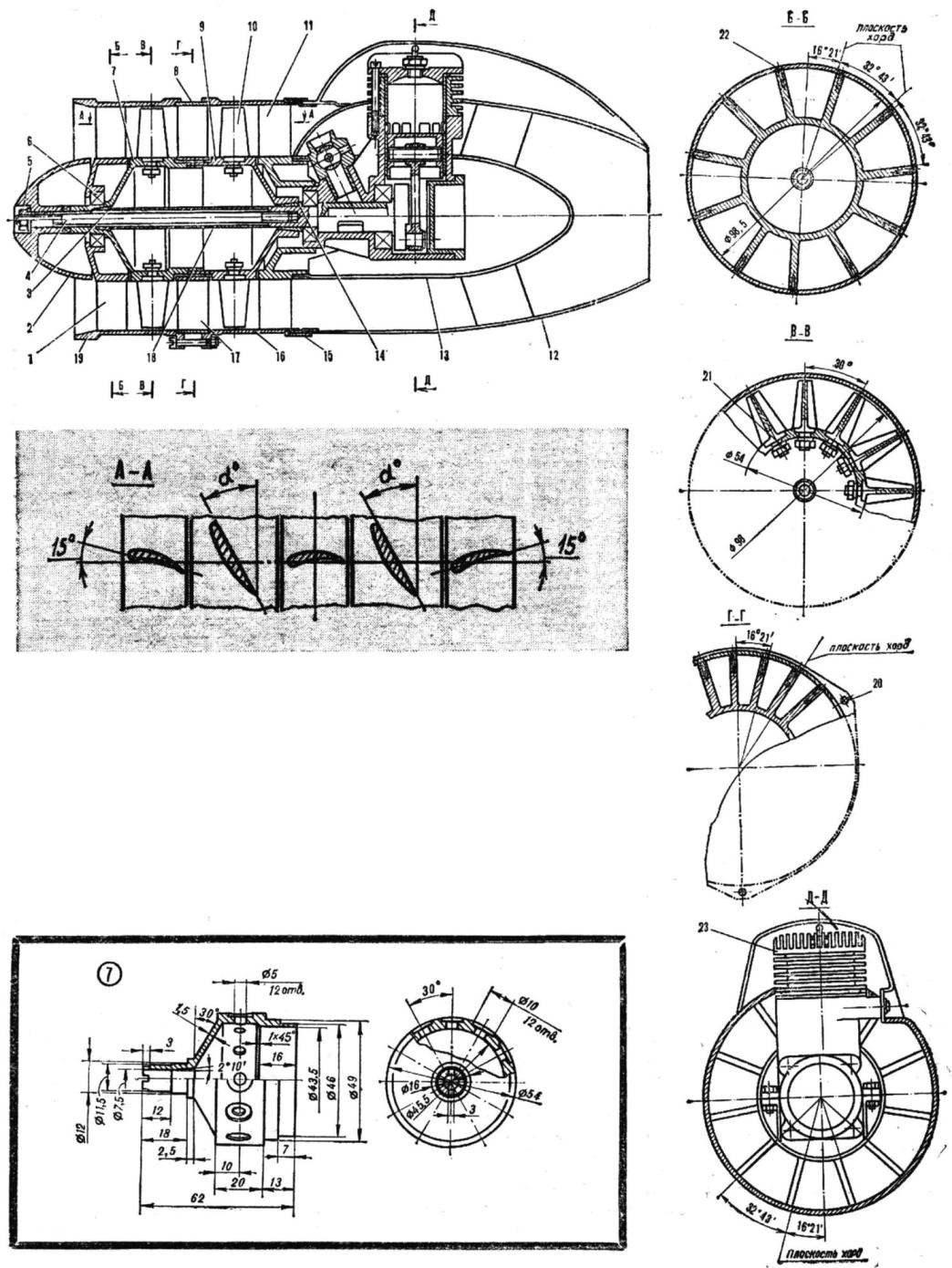 Импеллер конструкции П. Смирнова