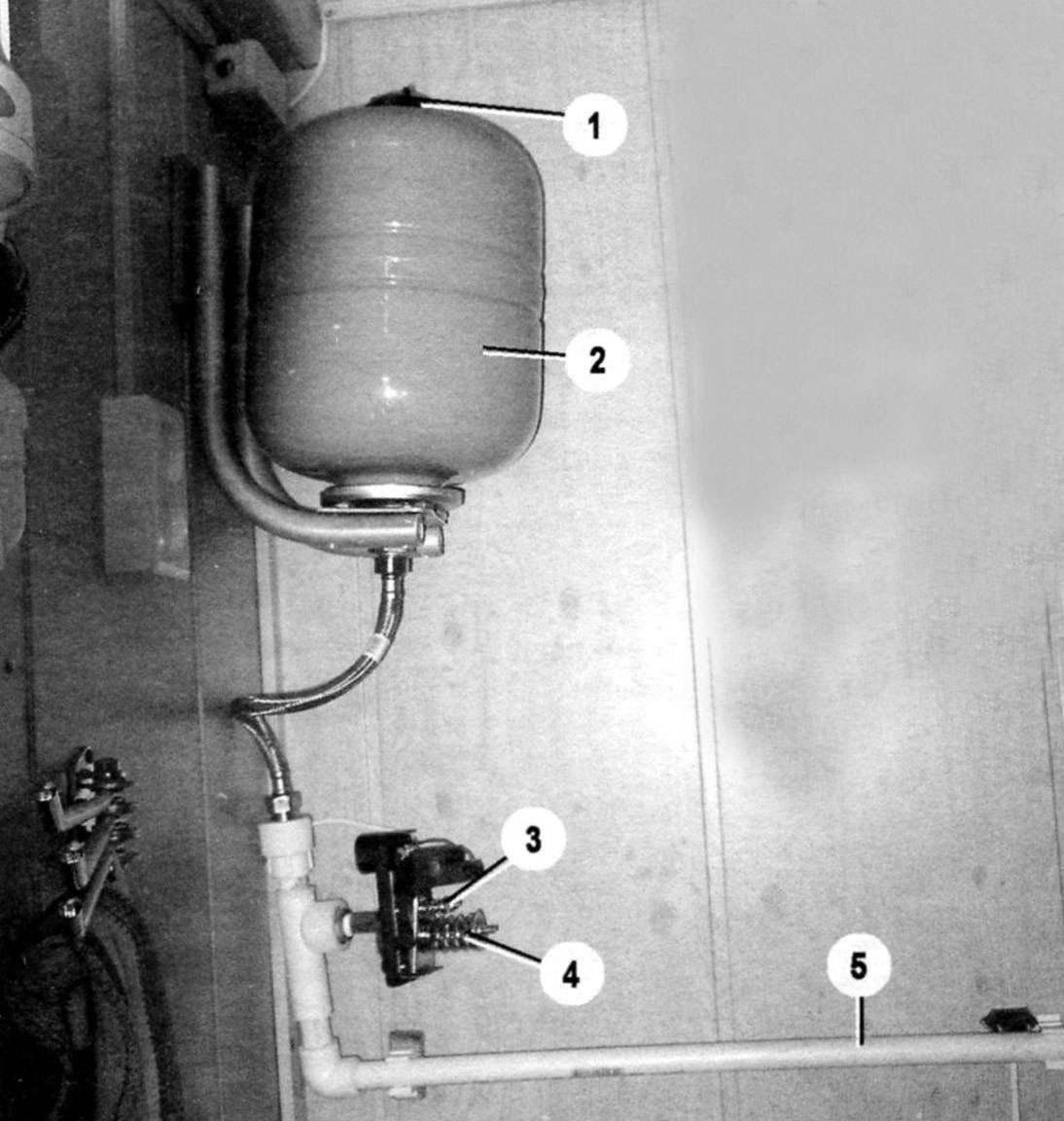 Рис. 5. Гидроаккумулятор