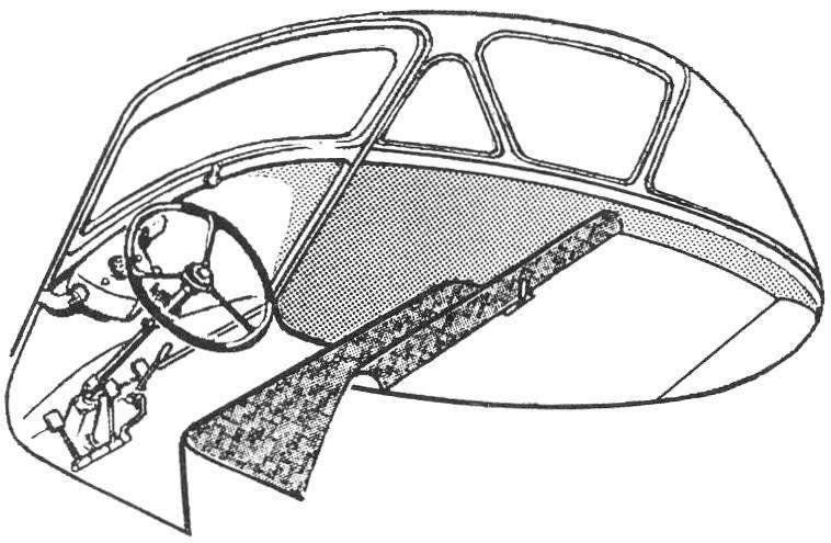 Cabin BMW ISETTA