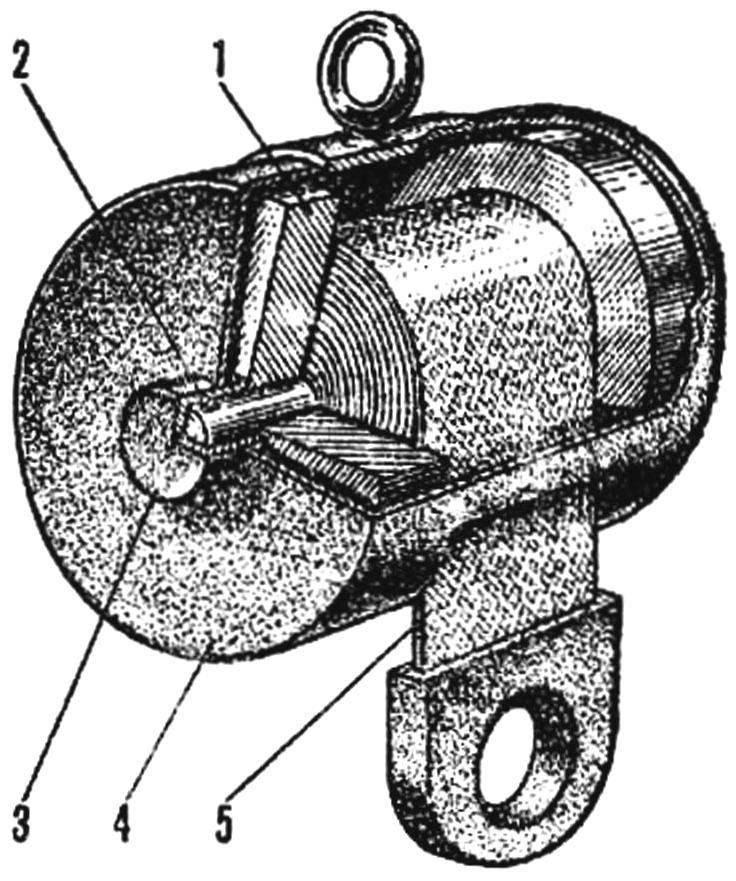 Рис. 2. Упрощенный вариант лифта
