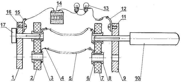 Рис .2. Схема электрического соединения плат