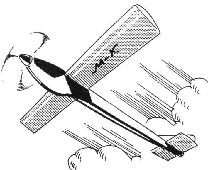 Самолёты на резиномоторе своими руками 45