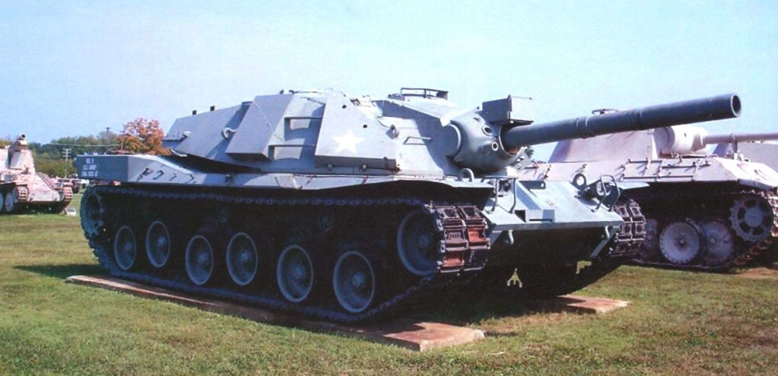 МВТ 70 в музее армии США на полигоне в Абердине, штат Мериленд